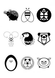 Зоо логотипы