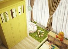sunny childroom