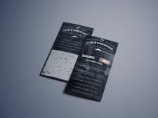 Дизайн листовок для  барбершопа