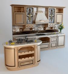Модель классической кухни