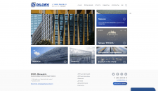 Вёрстка и фронтенд-разработка сайта Bildex