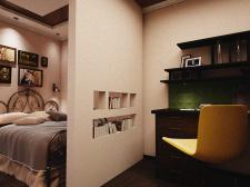 Дизайн спальни вид 6