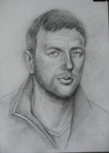 Портрет, карандашом