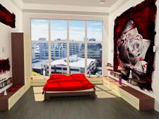спальня2 (программа: 3D Max)
