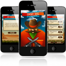 Backend IOS game Cowboy Multiplayer Western Duel