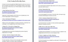 Копирайтинг англ 15 Most Trending WordPress Themes