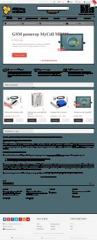 Сайт по продаже и установке GSM оборудования