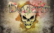 """Создание логотипа для рок группы """"Deviant"""""""