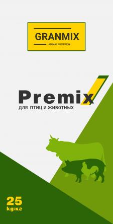 Дизайн мешка премикса для сельхоз животных