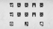 """Иконки для приложения """"Картография"""""""