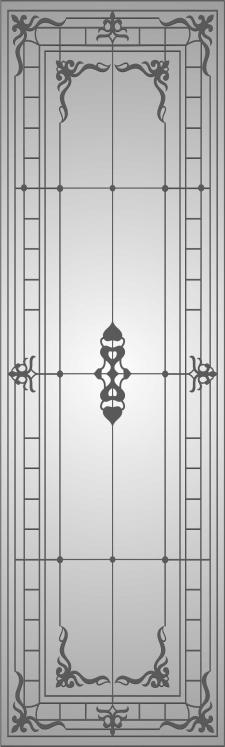 Рисунок на зеркало для шкафа-купе