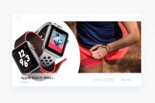 Apple Watch Nike+ banner