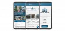 Приложение CitySale (Агенство недвижимости)