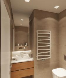 Дизайн интерьера сан узла в современном стиле