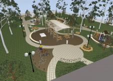 Благоустройство парка в г.Чугуев