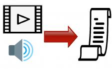 Транскрибация  фото\видео\аудиофайла