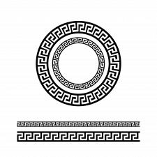 узор по кругу