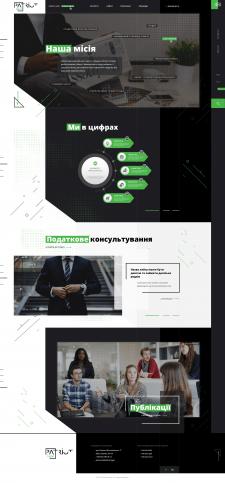 Дизайн сайта для юр. фирмы
