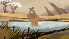 Hippo lanscape