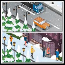 Серия иллюстраций