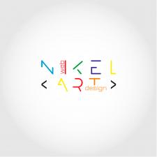 Логотип для графического дизайнера NikelArt