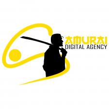 "Вариант лого для диджитал агенства ""Самурай"""