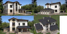 Проект жилого здания