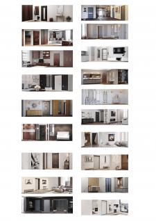 Визуализация входных дверей в интерьере