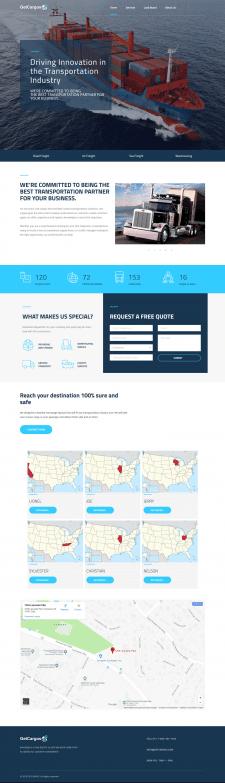 Сайт грузовперевозок по америке
