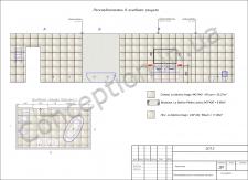 Пример раскладки плитки