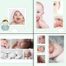 Фотокнига для мальчика до 1 года
