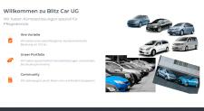 """Website """"Blitz Car UG"""""""