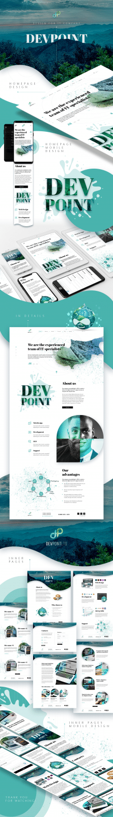 Design for IT company on Cyprus