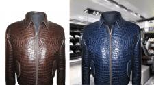 Изменение цвета куртки, обработка, замена фона
