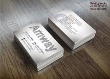 визитка Amway
