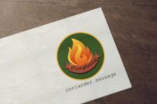 Логотип для колбаски