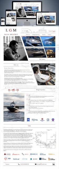 Дизайн Сайт-визитка