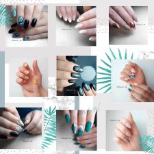 Оформление instagram  маникюрного салона красоты