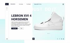 Сайт по продаже обуви NIKE