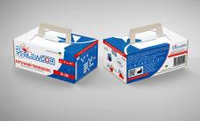 Дизайн упаковки для термоконтейнера