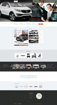 Сайт по продаже, аренде машин и недвижимости