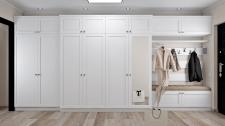 Моделирование и визуализация мебели в прихожей