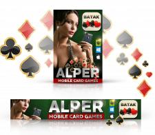 """Дизайн рекламного Web-банерра """"ALPER. MOBILE CARD"""