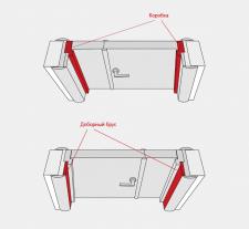Схемы погонажных изделий для покупки дверей