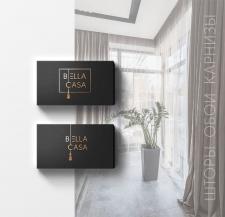 Создание логотипа для сети салонов штор BellaCasa