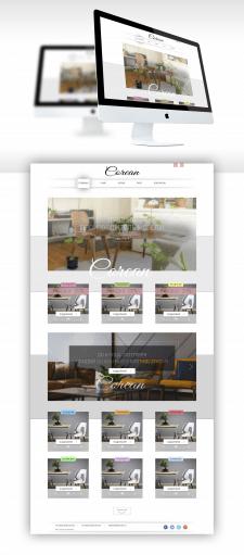 Дизайн для сайта магазина мебели