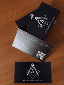 Дизайн визиток для архитектурной студии
