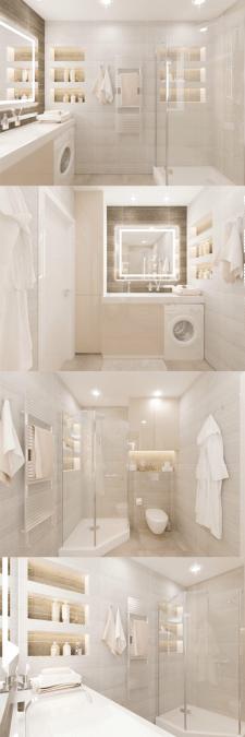 Дизайн ванной комнаты. Дизайн санузла.