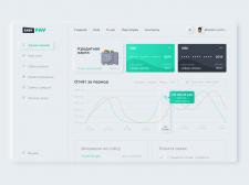 Дизайн личного кабинета для платежного сервиса
