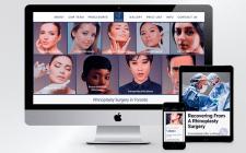 Сайт для медицинского центра пластической хирургии